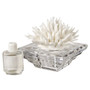 Decorative Aroma Diffuser Crystal with White Coral porcelain