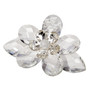 Italian Crystal louts Flower with Swarovski Flower Center