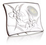 50th Anniversary Plaque 925 Silver Argento  w, Wood Backing