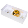 Decorative Reed Diffuser Gold Crystal Butterfly Top, box view