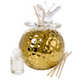 Decorative Reed Diffuser Gold Crystal Butterfly Top (Favor)