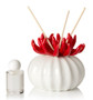 Decorative Aroma Reed Diffuser Red  Porcelain Coral Top