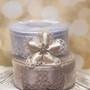 Coccarde Almond Holder Confetti Flower Ribbon