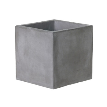Newport concrete cube by Accent Decor 8x8