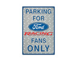 Tin Tacker Sign - Parking Sign