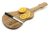 Bamboo Cutting Board - Guitar