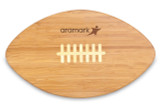 Bamboo Cutting Board - Football