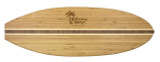 Bamboo Cutting Board - Surfboard