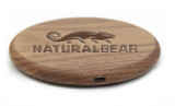 Wood Qi Wireless Charger Pad