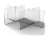 Table Divider Guard - 6 section
