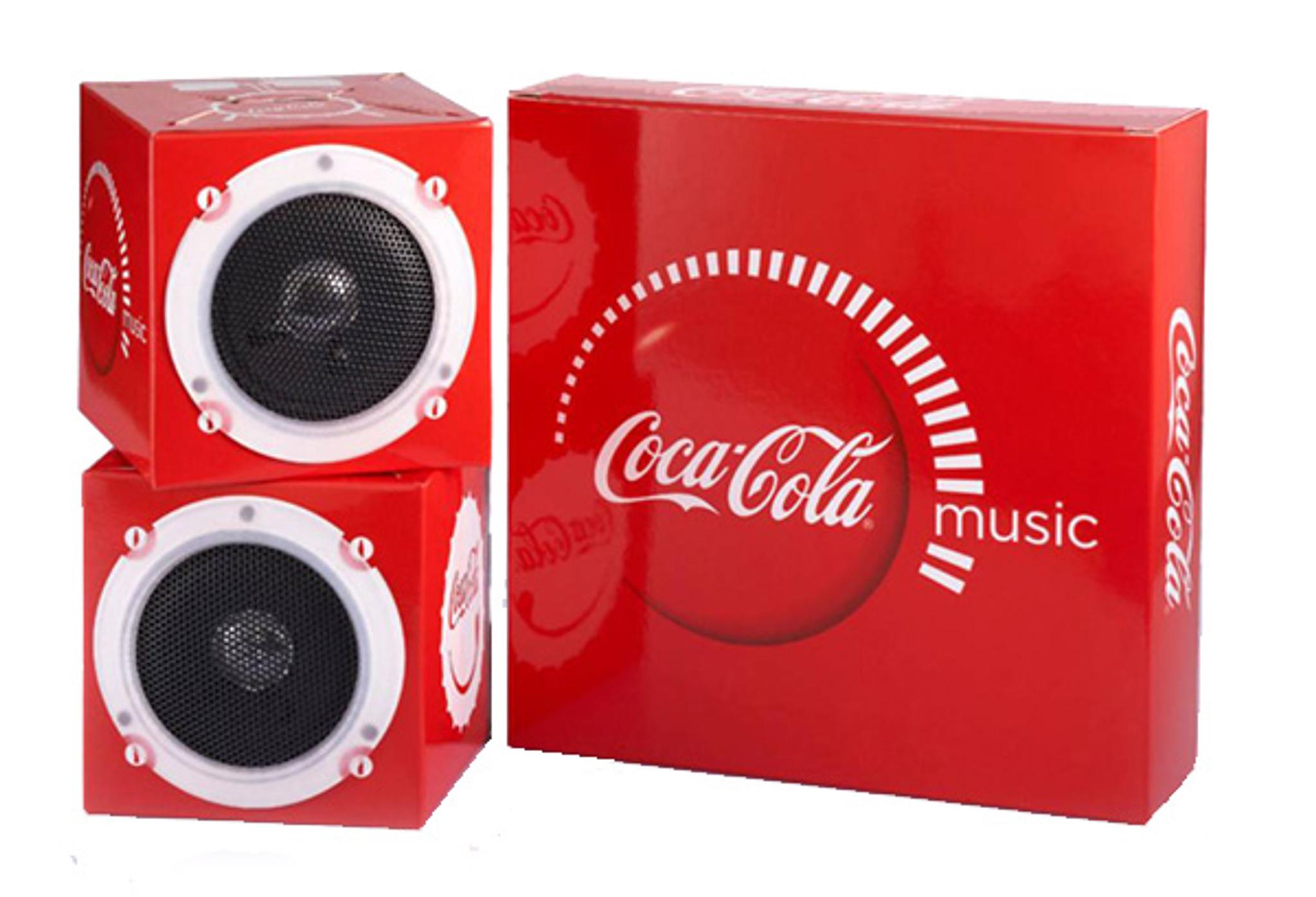 Paper Cube Speakers