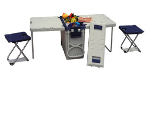 Cooler w/ Table & Chairs