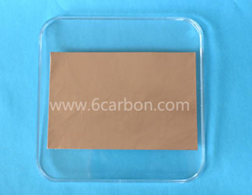 Multilayer hBN film on Copper Foil