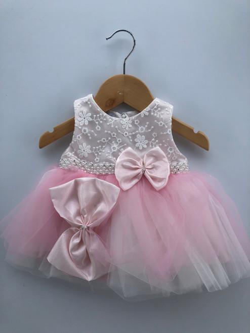 Premature dress pink