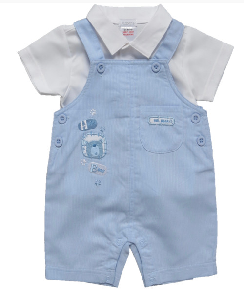 Dungaree Set Hello Bear