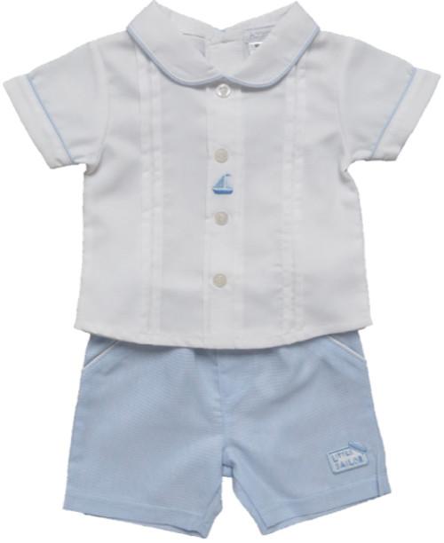 Shirt and Short Set  Little Sailor
