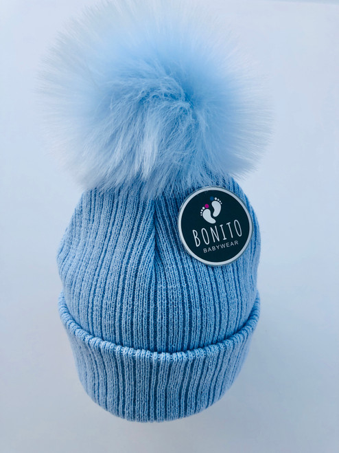 2nd size fur Pom hat Blue