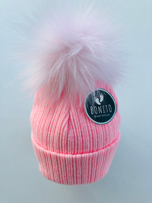 2nd size fur Pom hat  Pink