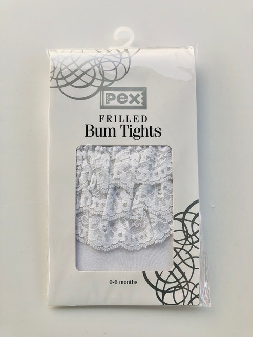 Frilly bum tights