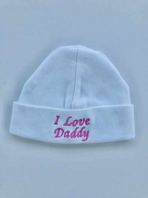 Cotton hat daddy pink
