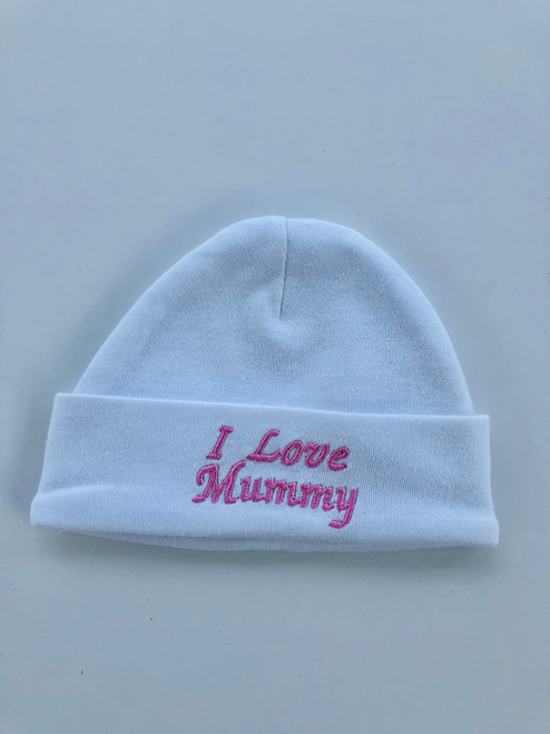 Cotton hat mummy   pink