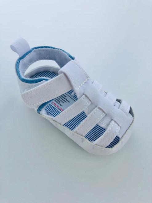 Boys sandal white