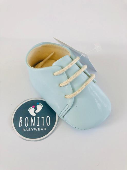 Spanish shoe blue