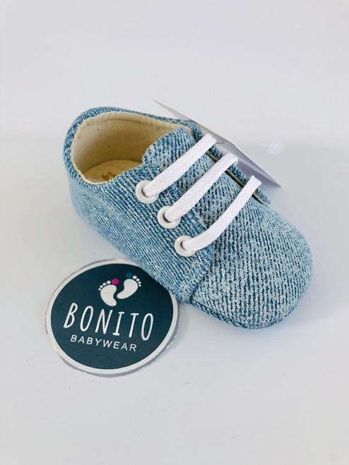 Spanish denim shoes