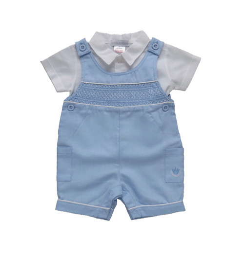 Dungaree set boys classic
