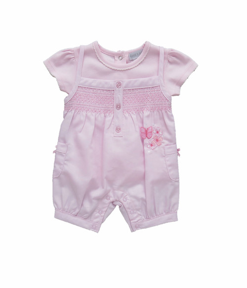 Dungaree set butterfly