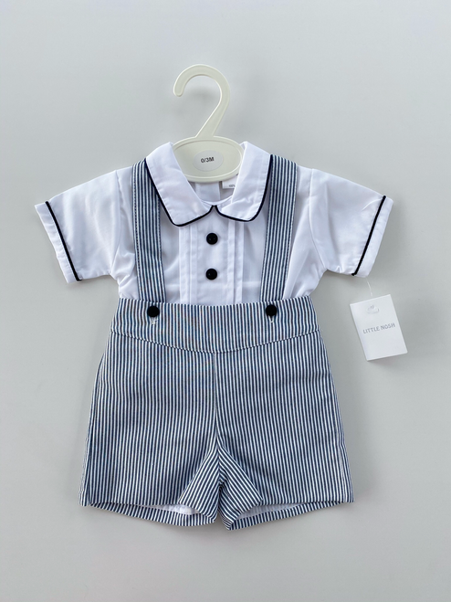 Shirt and dungaree set