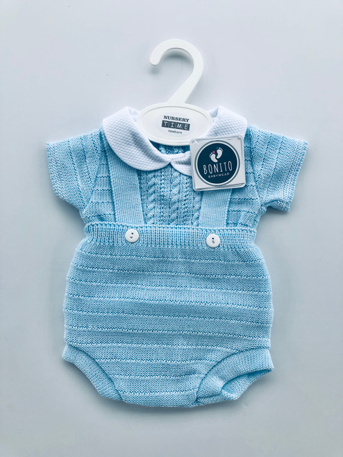 Two piece knitted jam pant set
