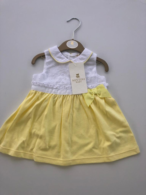 Mintini yellow dress