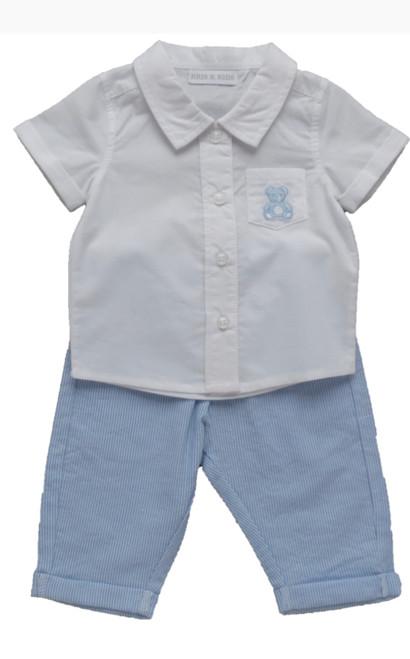 Shirt & dungaree set