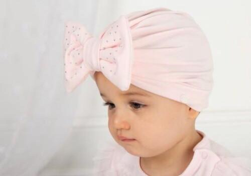 Turban hat pink