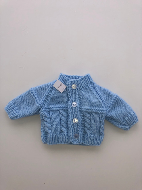 Quality cardigan blue