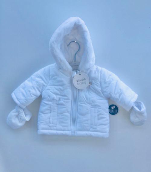 Blues Baby  jacket white