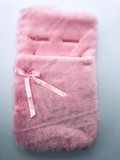 Pink fur cozy toes