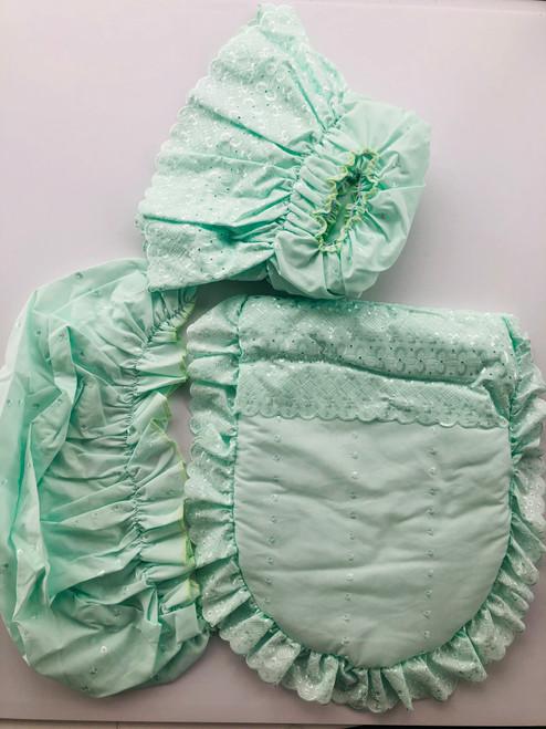3 piece mosses dressing mint