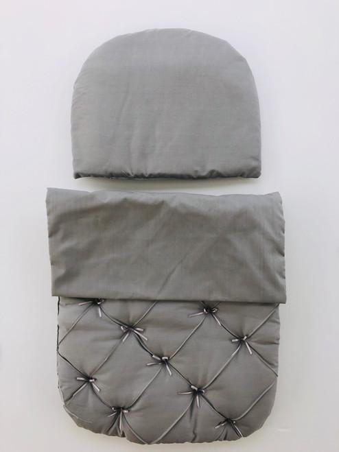 Bobble pram set grey