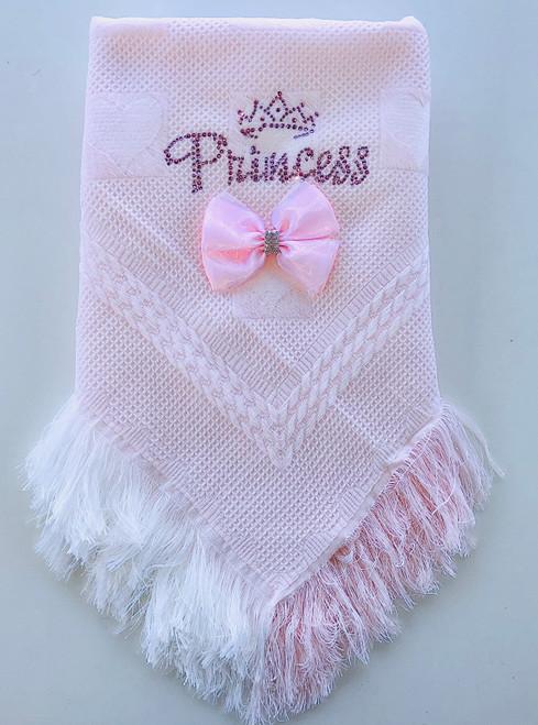 Princess/crown shawl