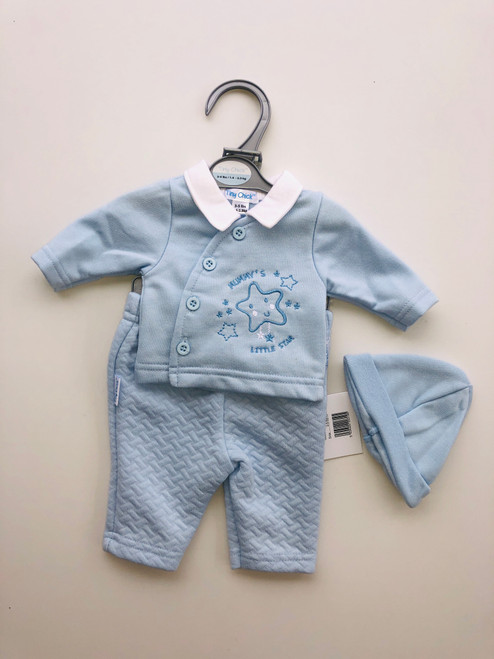 Premature  3 piece suit blue