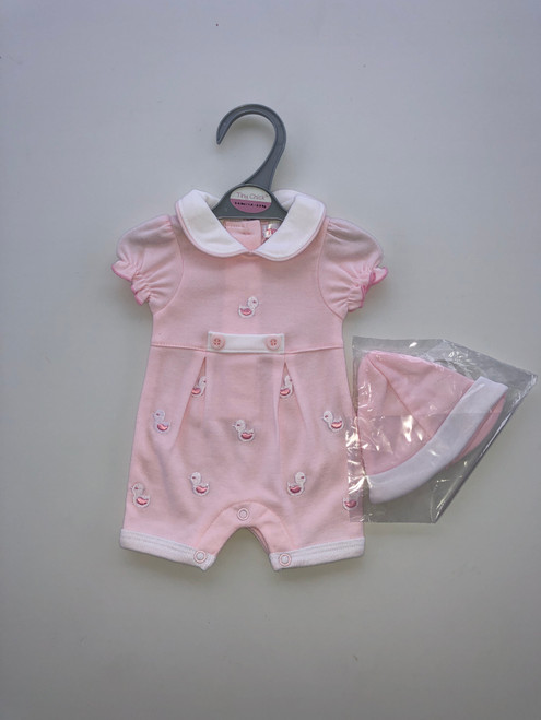 Premature three piece set pink