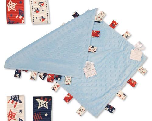 Tag comforter blue
