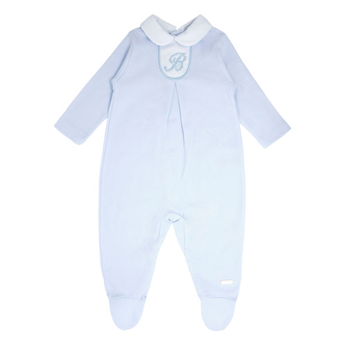 Blues baby classic baby grow