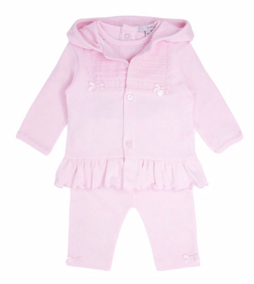 Blues baby 3 pc pink set