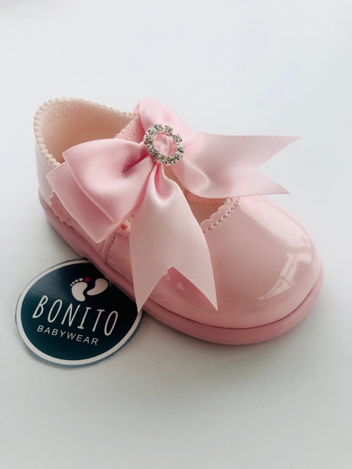 Baypod diamanté shoe pink