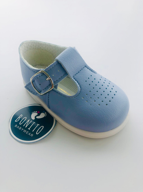 Baypod holes shoe blue