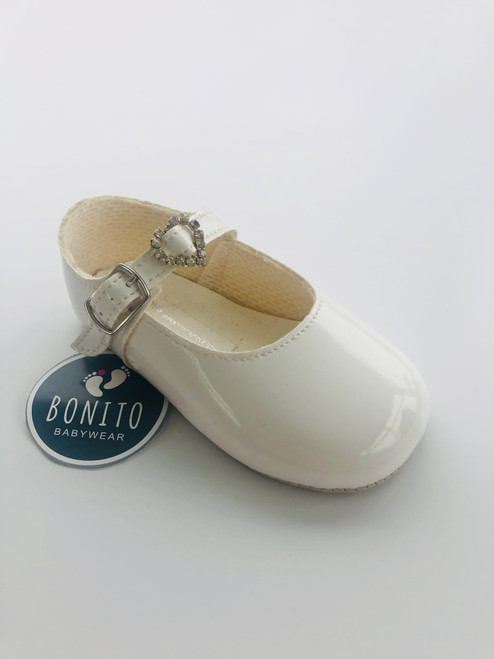 Baypod soft sole diamanté White