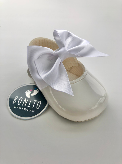 Soft sole big bow W